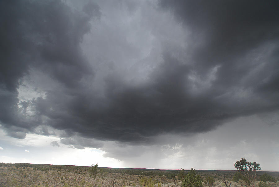 Clouds Photograph - Monsoon Storm Clouds by David Edwards