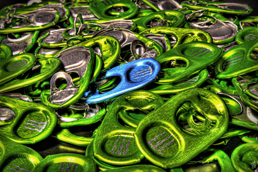 Monster Can Tabs Detroit Mi Photograph by Nicholas  Grunas