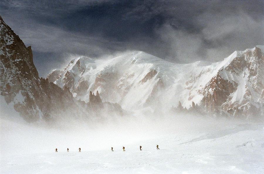 Mont Blanc Photograph - Mont Blanc by Andrea Gabrieli