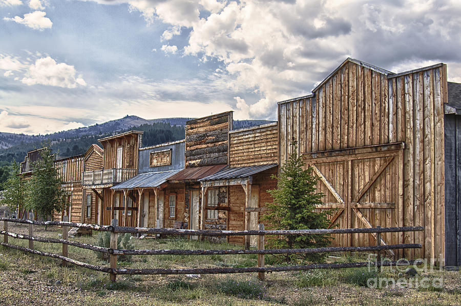 Montana Ghost Town Photograph By Carolyn Fox