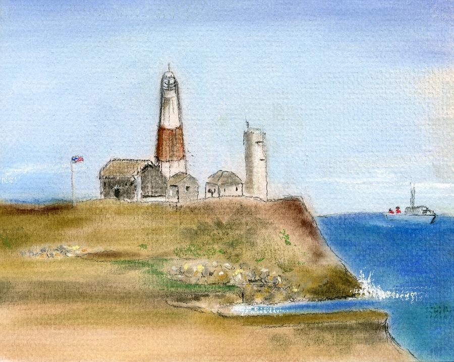 Montauk Lighthouse by Barbara Gulotta