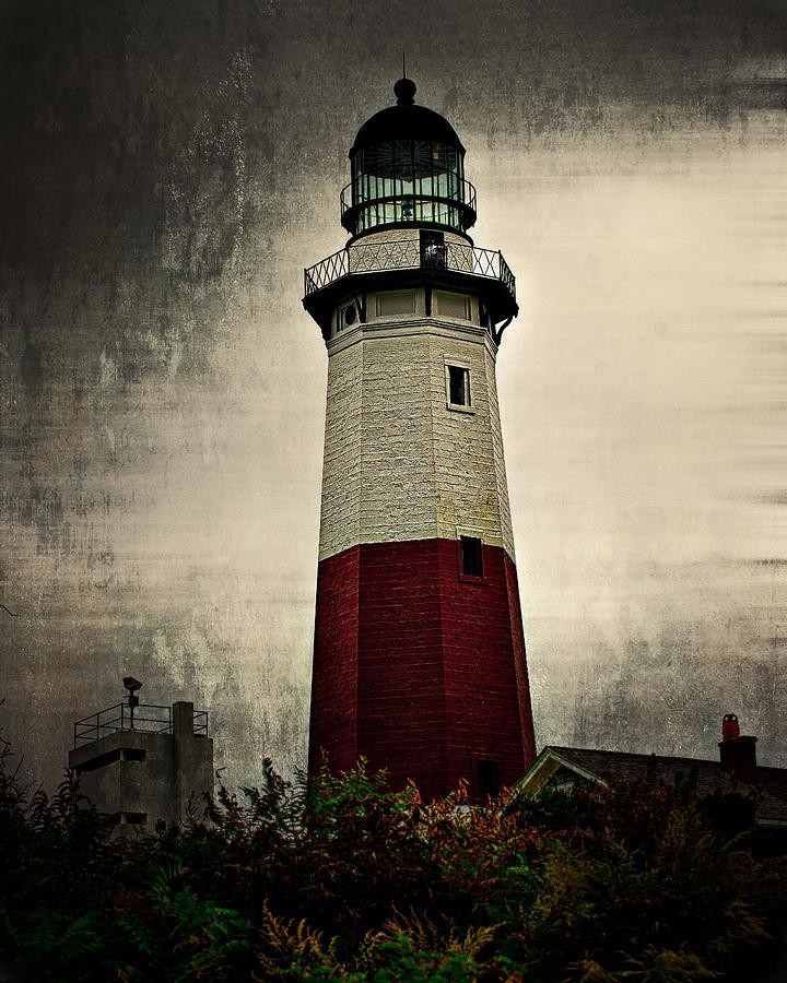 Montauk Point Light Photograph