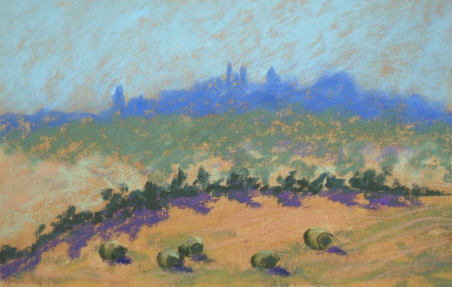 Tuscany Painting - Montepulciano by Janet Biondi