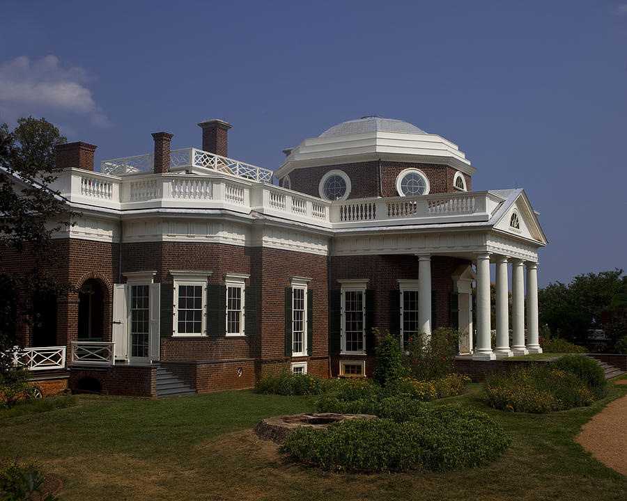 Monticello Photograph - Monticello by Andrew Soundarajan