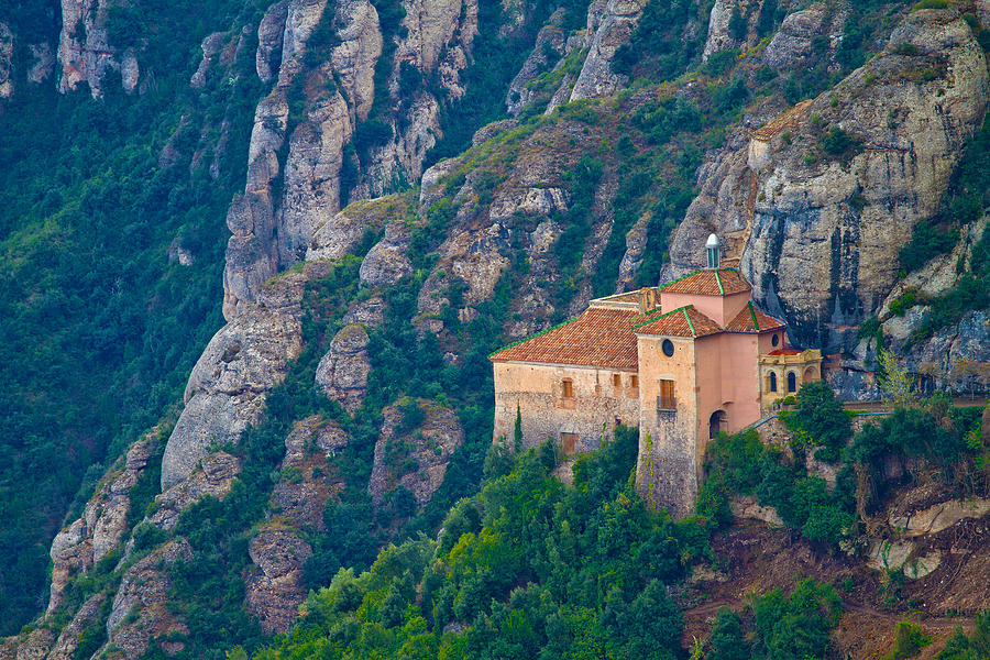Horizontal Photograph - Montserrat by Albert Tan photo
