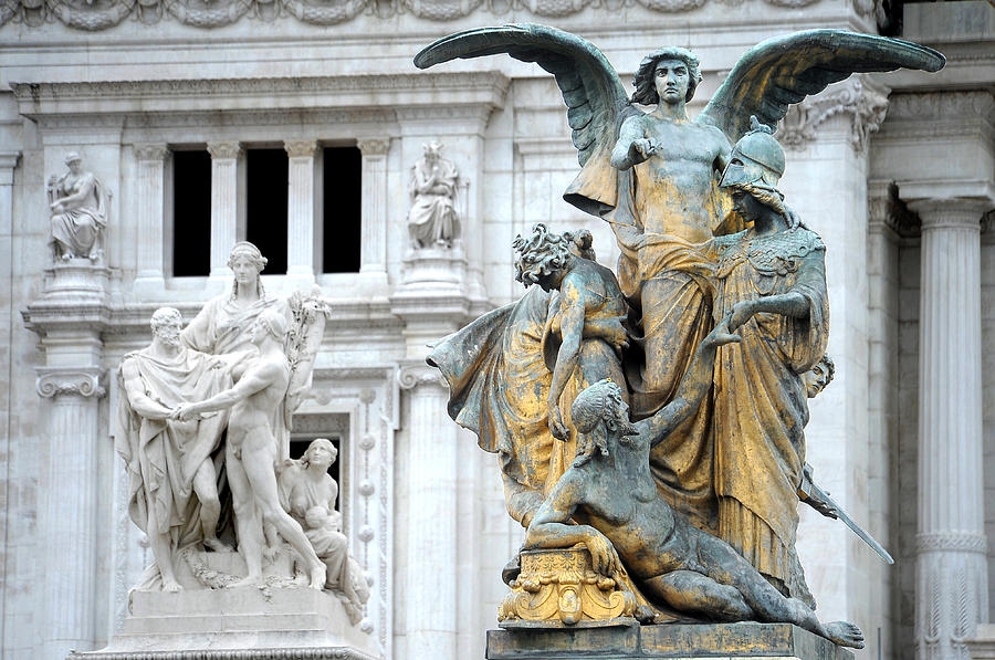Rome Photograph - Monument by Tammy McKinley