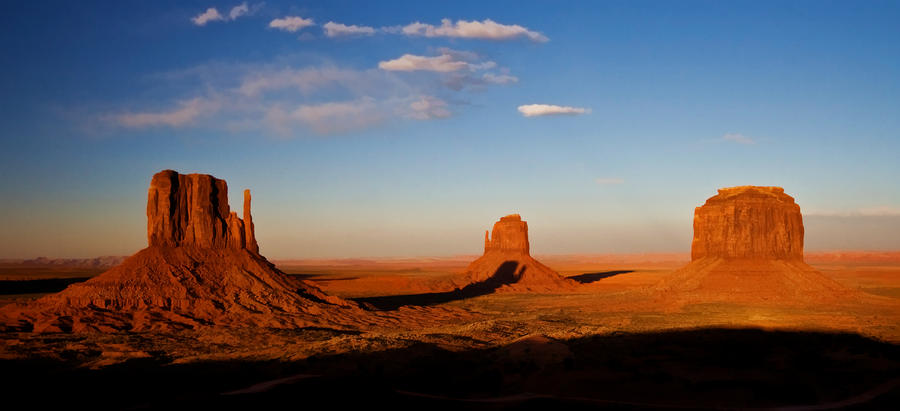 Monument Valley Panorama Photograph By Rachael Talibart