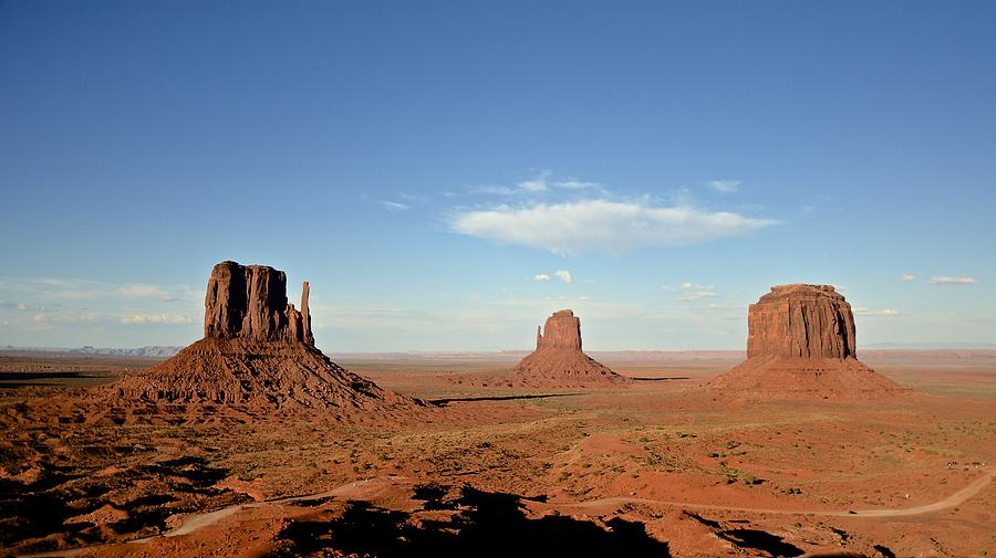 Horizontal Photograph - Monument Valley by Stefano Baldassini