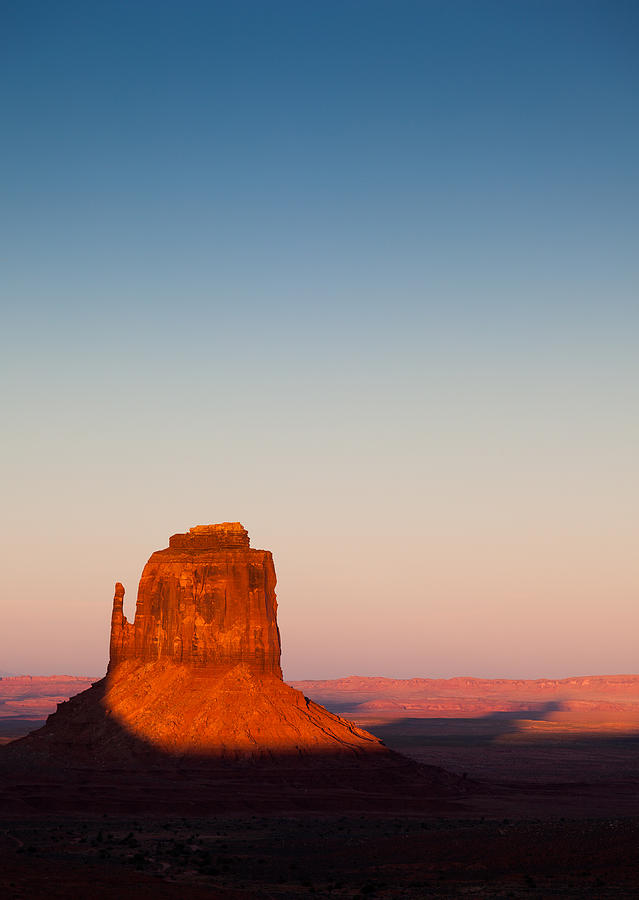 Monument Valley Photograph - Monument Valley Sunset by Dave Bowman