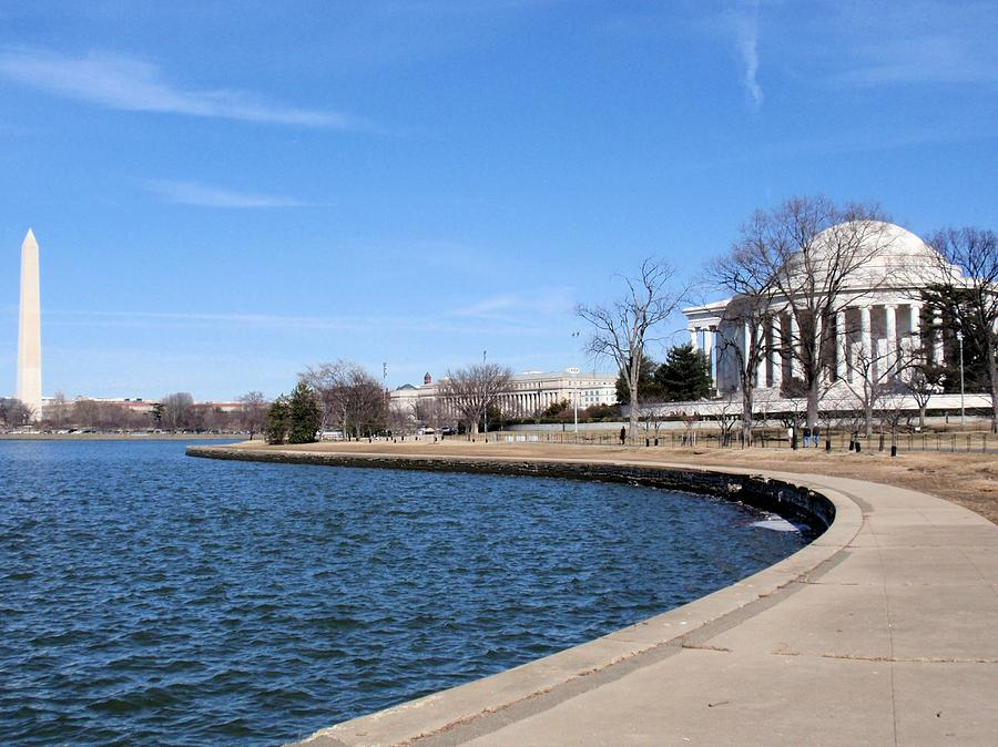 Jefferson Photograph - Monumental View by