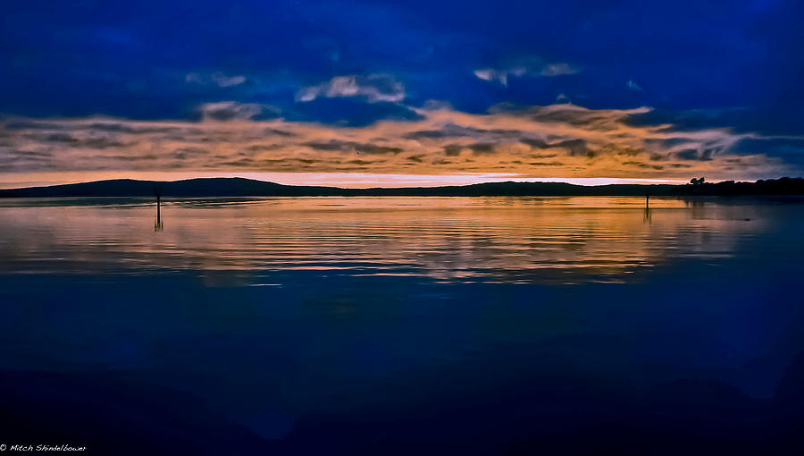 Moody Blue Photograph - Moody Blue by Mitch Shindelbower