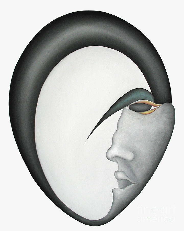Sensual Painting - Moon Brother by Joanna Pregon
