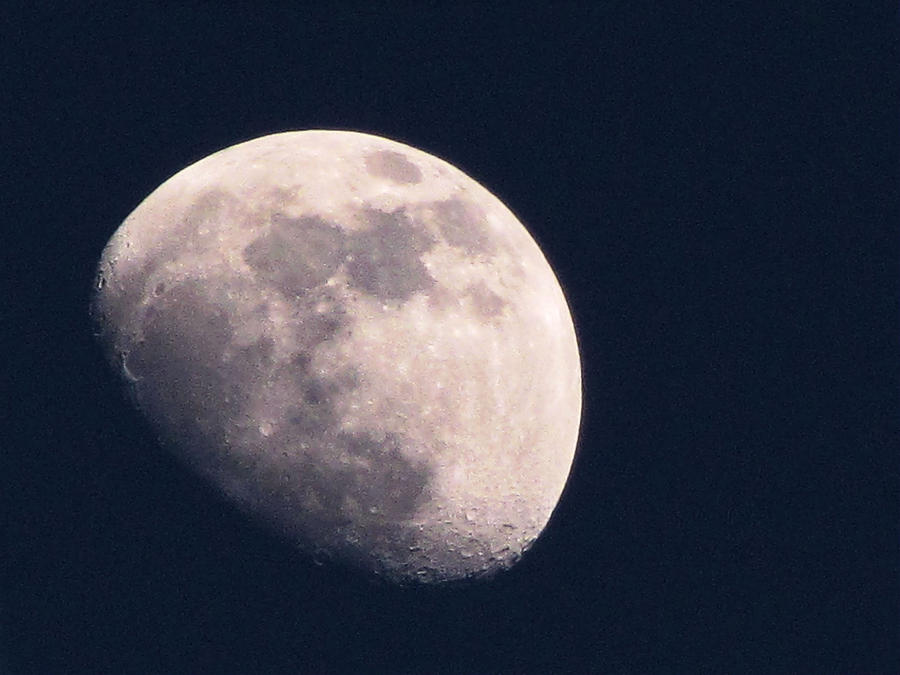 Night Photograph - Moon by Katie Wing Vigil