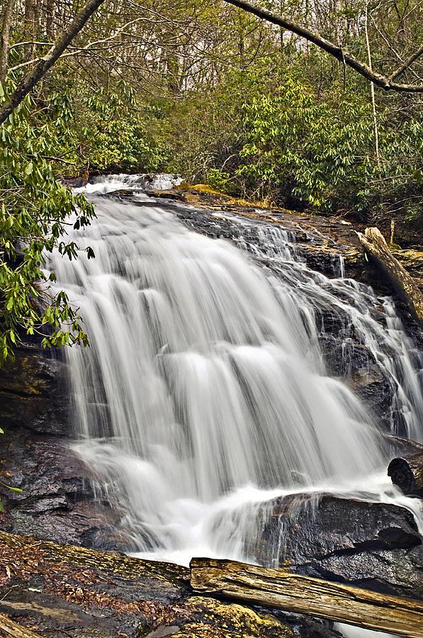 Water Photograph - Mooney Falls by Susan Leggett