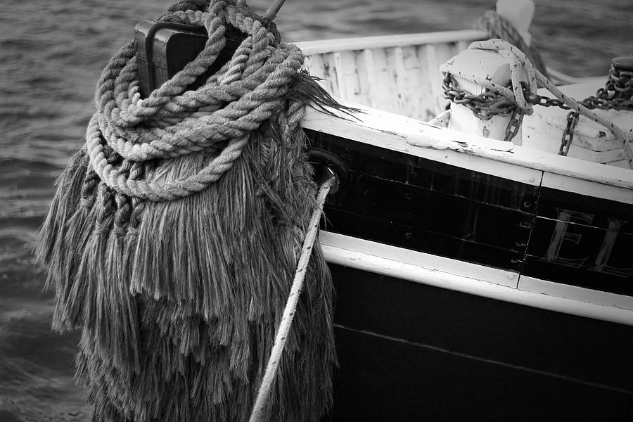 Boat Photograph - Moored by Eric Gendron