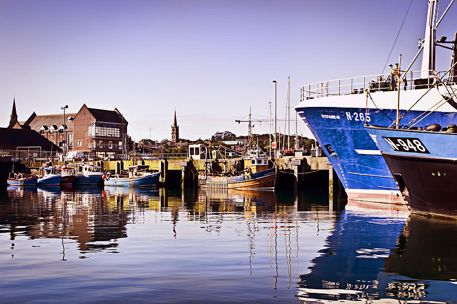 Bangor Photograph - Moored Up by Chris Cardwell