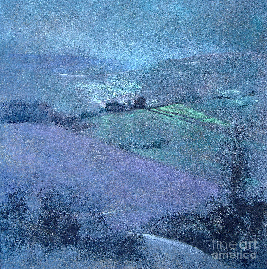 Illustrated Painting - Moorland Highlights by Neil McBride