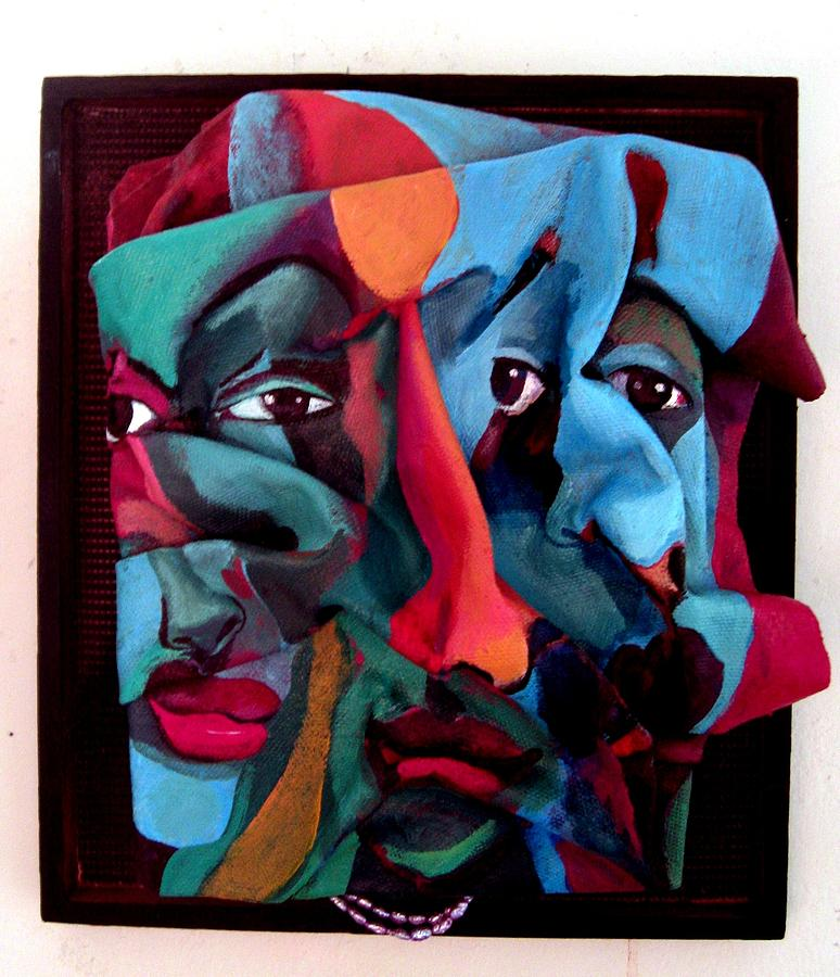 People Painting - More Than Skin Deep No. 6 by Joyce Owens