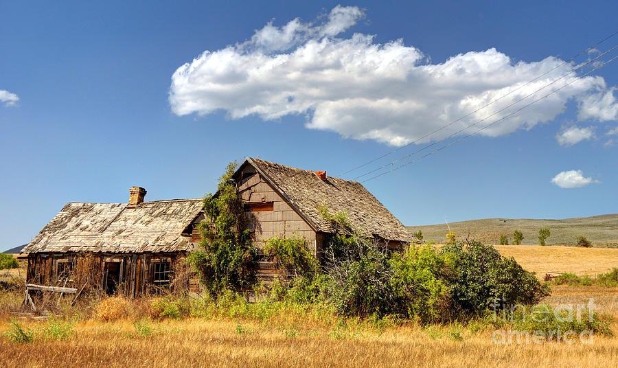 Mormon Pioneer Homestead Chesterfield Ghost Town Idaho