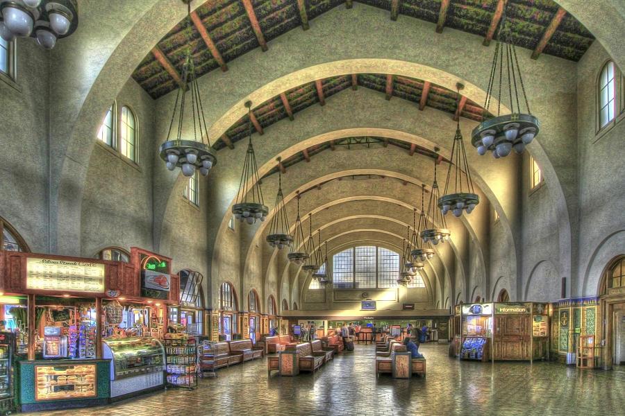 Morning At The Train Station Photograph By Orlando Guiang
