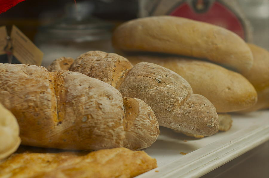Bakery Photograph - Morning Bread by William  Carson Jr