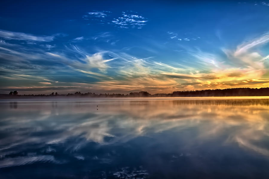 Sunrise Photograph - Morning Breeze by Gary Smith