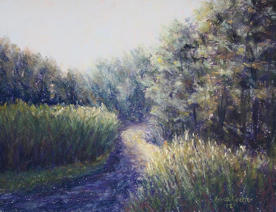 Morning Pastel - Morning Drive by Erica Keener