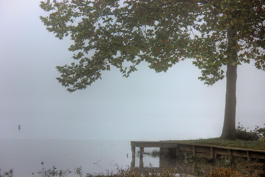 Landscape Photograph - Morning Fog by Barry Jones