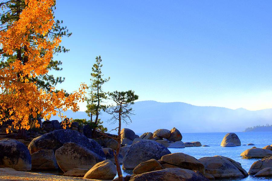 Lakes Photograph - Morning Glow by Lynn Bawden