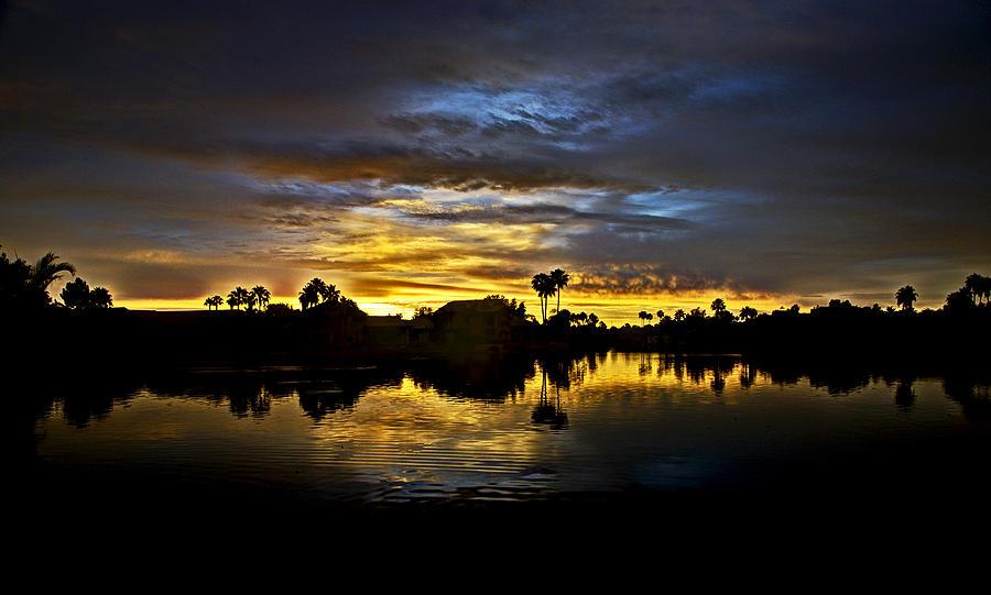 Sunrise Photograph - Morning Glow  by Saija  Lehtonen
