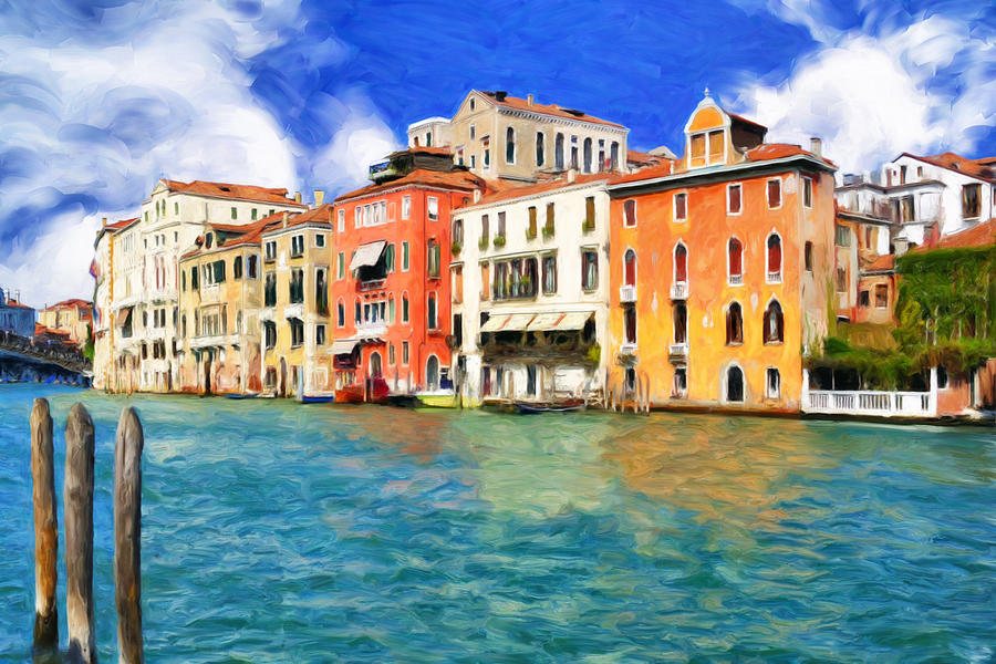 Morning Painting - Morning In Venice by Dominic Piperata