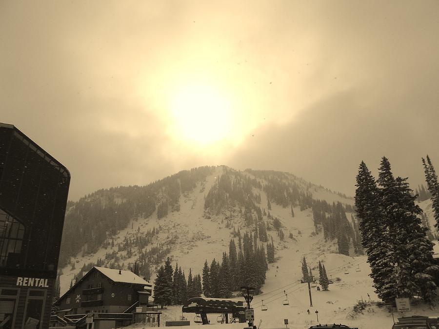 Sunrise Photograph - Morning Light by Michael Cuozzo