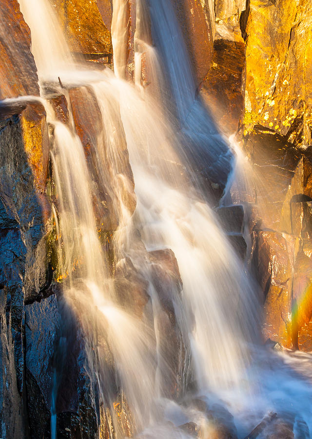 Landscape Photograph - Morning Light On Lower Falls by Marc Crumpler