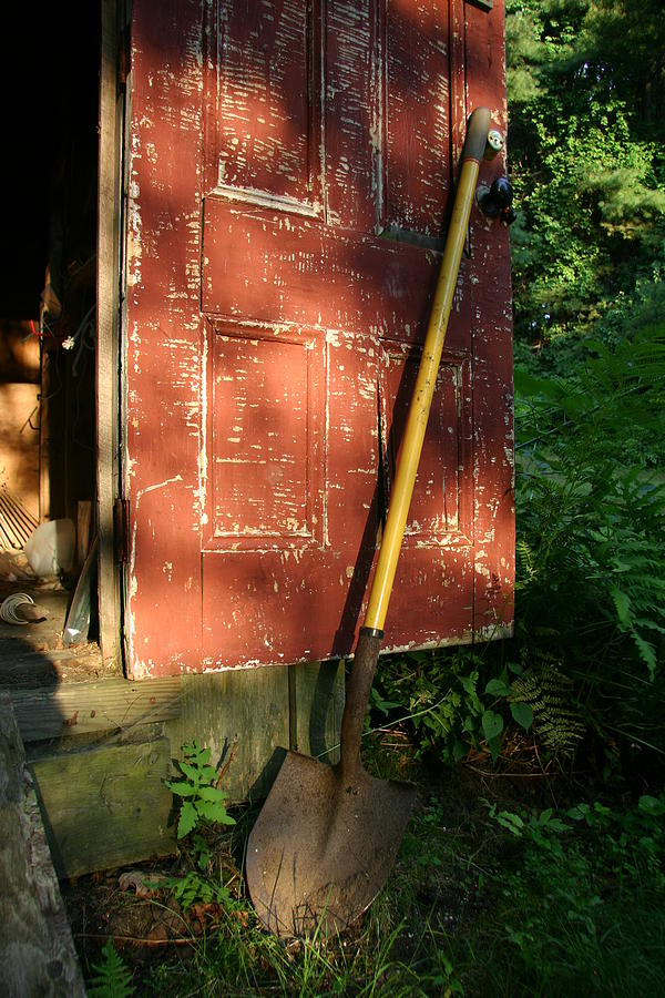 North America Photograph - Morning Light On The Door Of An Old by Stephen St. John