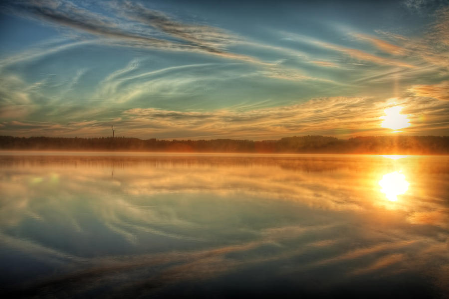 Mist Photograph - Morning Mist by Gary Smith
