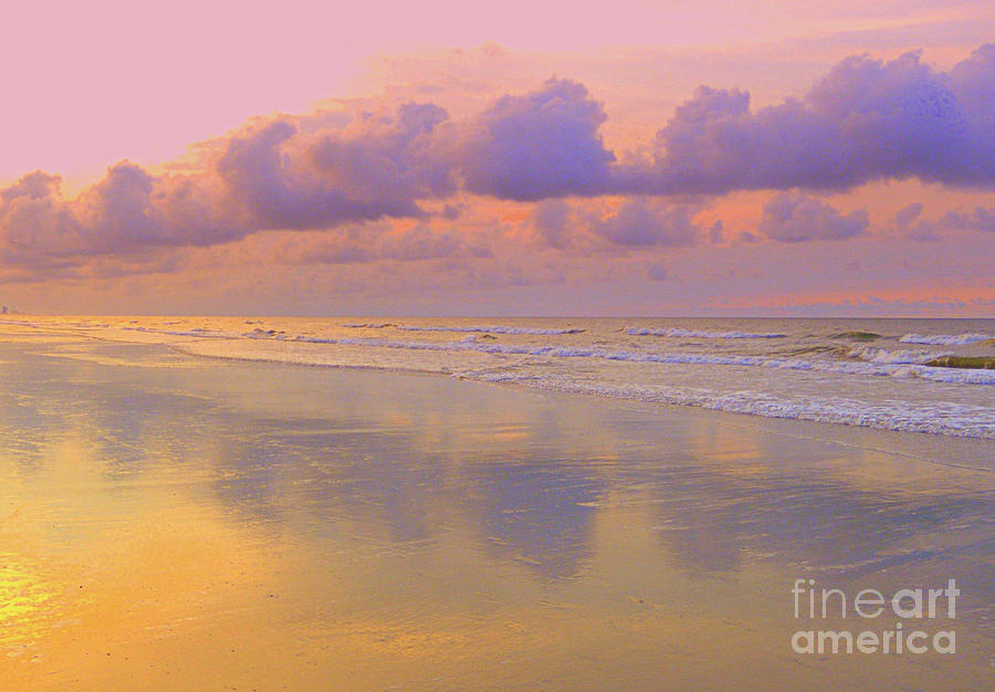 Morning Photograph - Morning On The Beach  by Lydia Holly