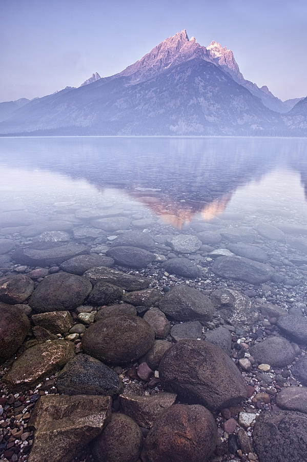 Mountain Photograph - Morning Reflection  by Andrew Soundarajan