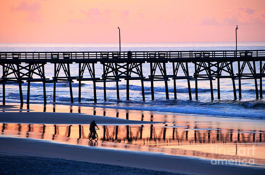 Morning Photograph - Morning Reflection by Bob and Nancy Kendrick