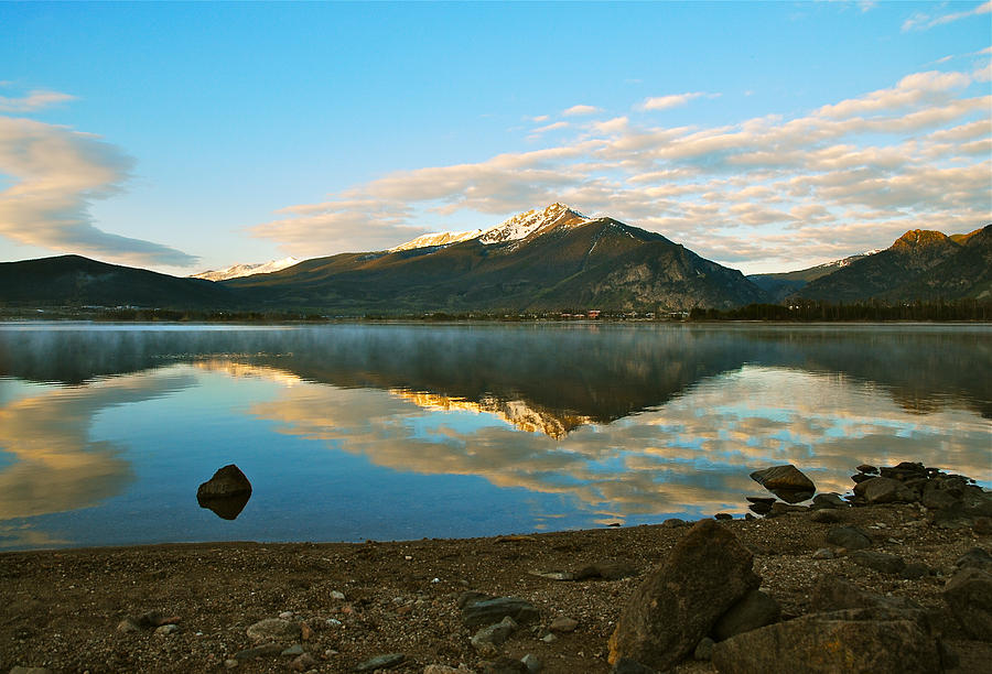 Summit County Colorado Photograph - Morning Reflections by Bob Berwyn