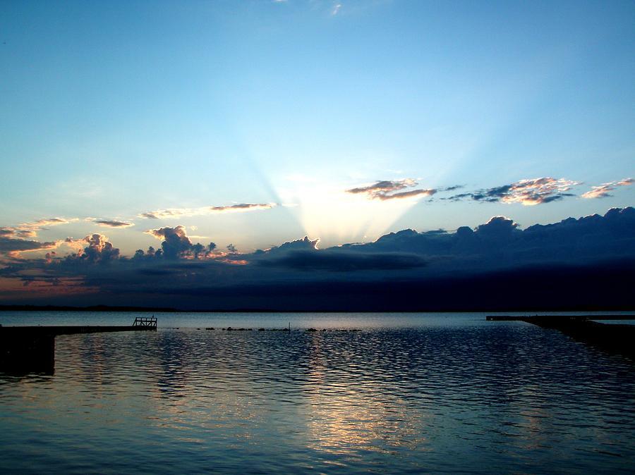 Landscape Photograph - Morning Sunrise Storm by Jonathan Lagace