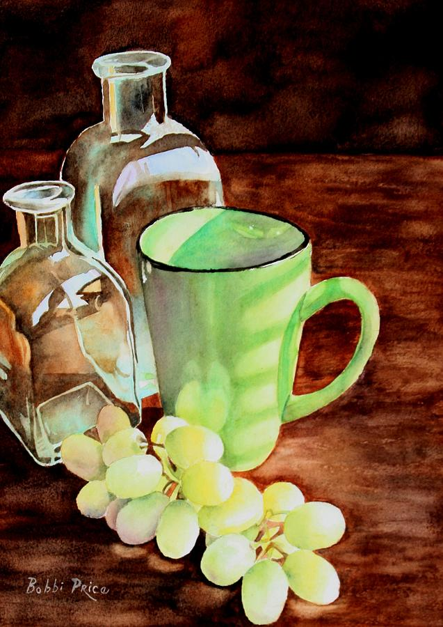 Watercolor Painting - Morning Sunshine by Bobbi Price