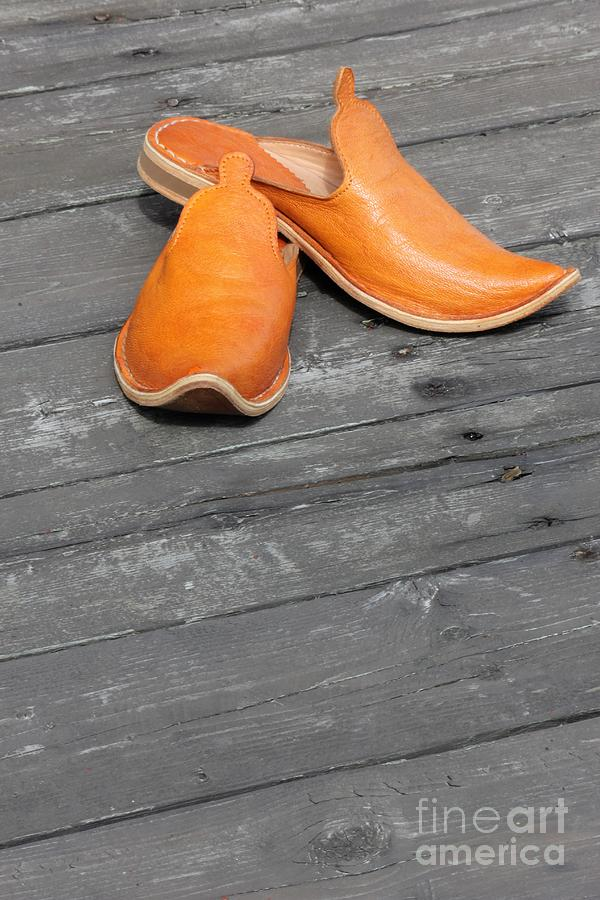 Shoes Photograph - Moroccan Touch by Sophie Vigneault