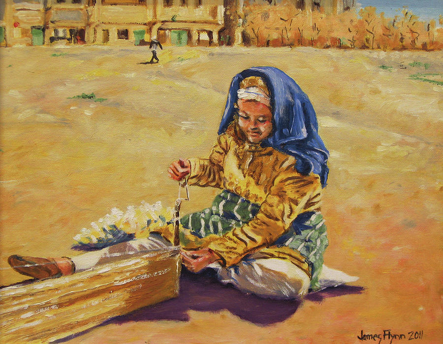 Moroccan Woman III by James Flynn