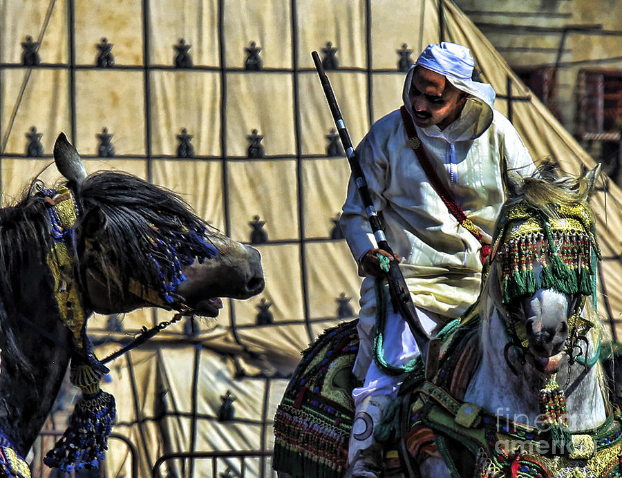 Morocco Photograph - Morocco Festival II by Chuck Kuhn
