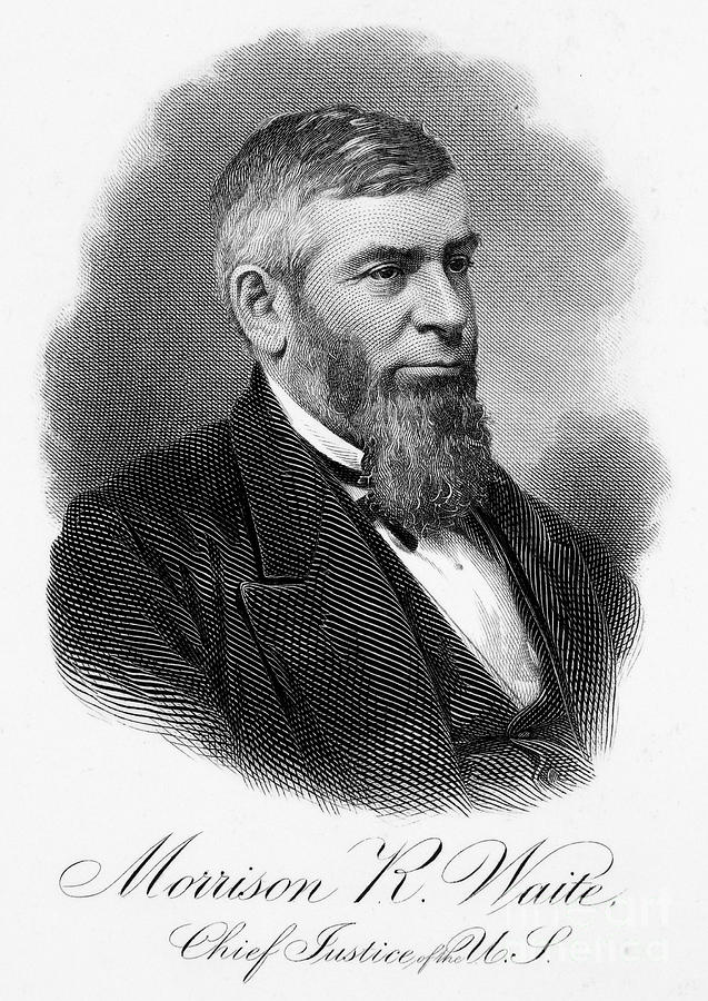 19th Century Photograph - Morrison R. Waite (1816-1888) by Granger