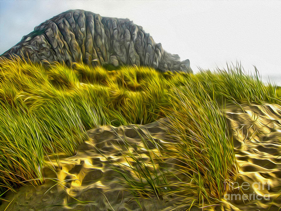 Morro Bay Painting - Morro Bay  by Gregory Dyer