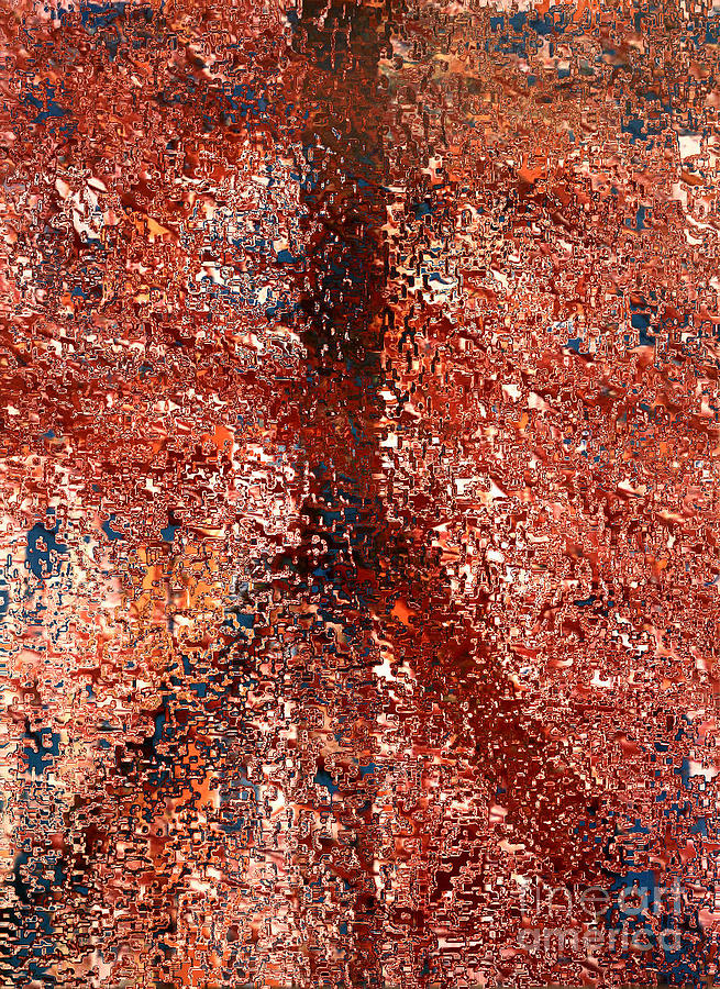Mosaic Digital Art - Mosaic Peace by Robert Haigh