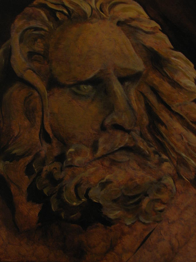 Moses Painting - Moses by Sherry Robinson