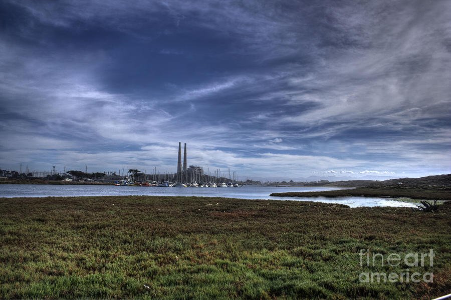 Moss Landing Photograph - Moss Landing Landscape by Morgan Wright