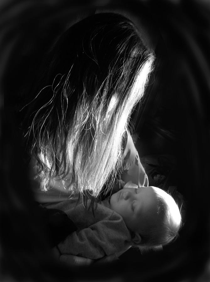 Baby Photograph - Mother And Child by Sheri Lauren
